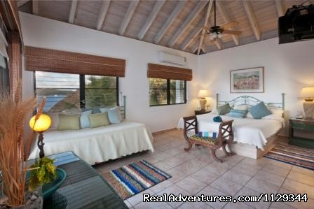 Master Bedroom with trundle bed - Life is Good at Coconut Grove Villa.