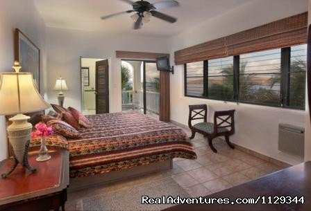 Another bedroom, with king bed - Life is Good at Coconut Grove Villa.