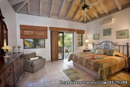 Another king bedroom - Life is Good at Coconut Grove Villa.