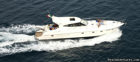 Our 58-foot motor-yacht: pure luxury Positano cruising (#6 of 23) - Private Boat Tours, Amalfi Coast and Capri