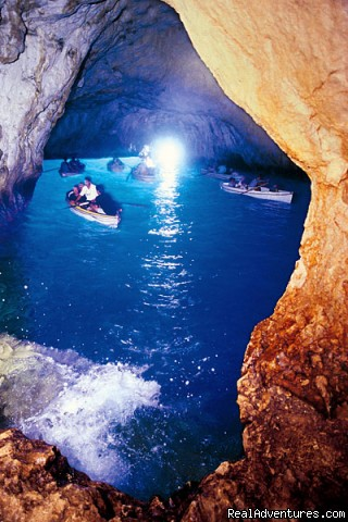 The Blue Grotto, or La Grotta Azzurra, in Capri (#22 of 23) - Private Boat Tours, Amalfi Coast and Capri