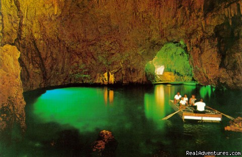 La Grotta dello Smeraldo, or the Emerald Grotto, in Amalfi - Private Boat Tours, Amalfi Coast and Capri