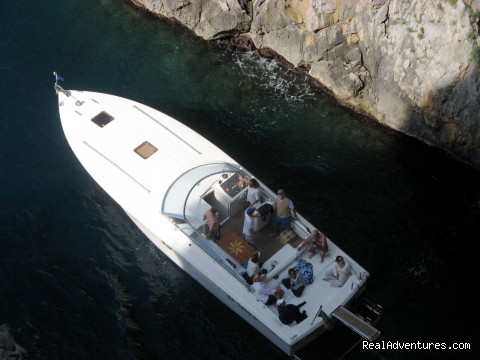 Papa, our 40-foot motor-yacht cruises the Amalfi Coast (#7 of 23) - Private Boat Tours, Amalfi Coast and Capri