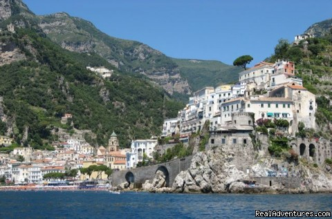 An Amalfi Coast village - Private Boat Tours, Amalfi Coast and Capri