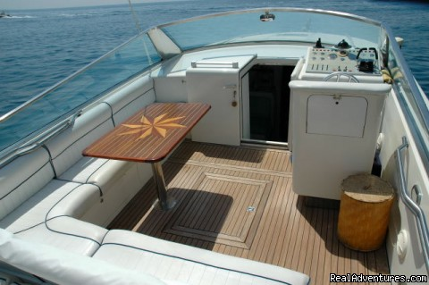 There are full amenities on board our motor-yachts - Private Boat Tours, Amalfi Coast and Capri
