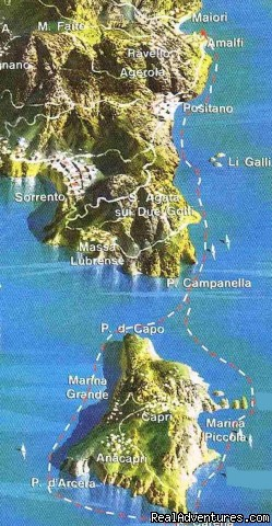 Just one of the itineraries we can offer - Private Boat Tours, Amalfi Coast and Capri