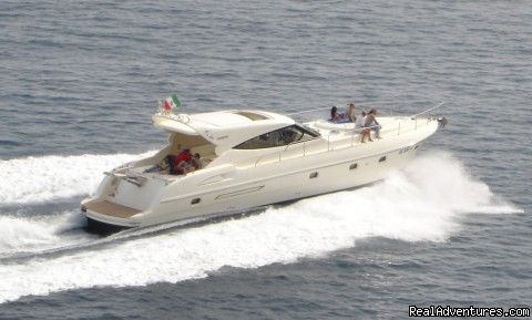 Luxury charter with the GIANETTI 58HT - Private Boat Tours, Amalfi Coast and Capri
