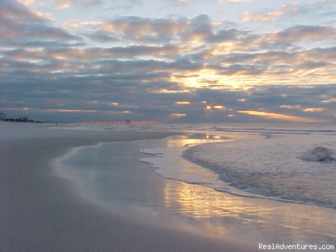 Beginning of a glorious day! - Florida Beach Vacation Condo Rental by owner