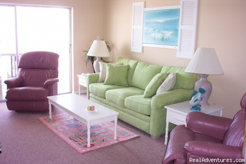 Newly Redecorated! - Florida Beach Vacation Condo Rental by owner