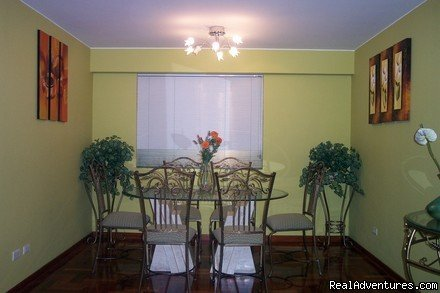 DINNING ROOM   | Image #2/10 |  Exclusive 2 Bedroom Apt 1 Block From Larcomar