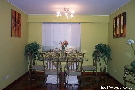 DINNING ROOM   -  Exclusive 2 Bedroom Apt 1 Block From Larcomar