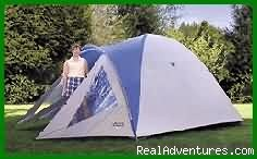 Camping Tent - Camping Vacations for Families and Friends