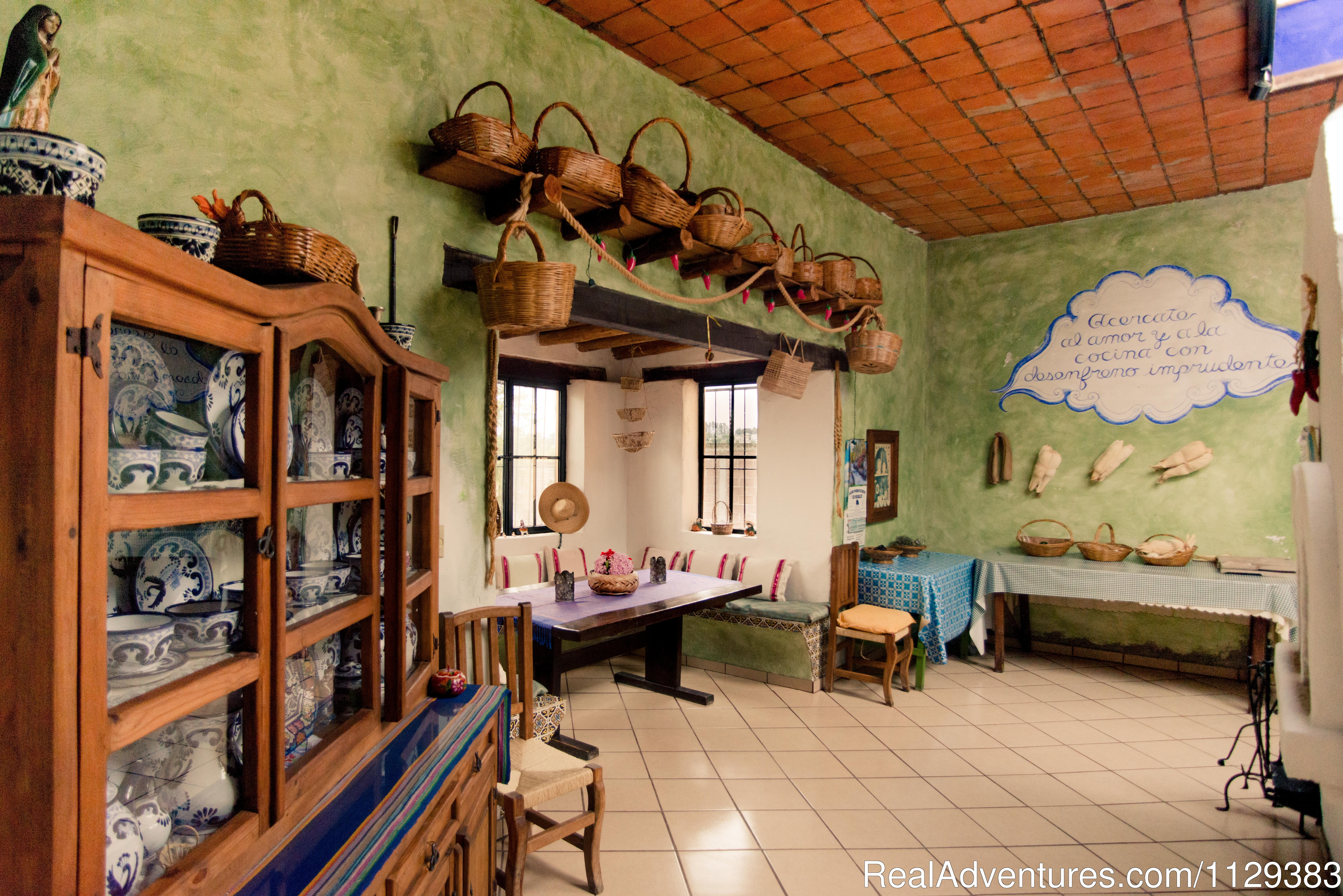 Casa Carmelita Kitchen | Image #8/22 | Mexican Home Cooking School boutique accommodation
