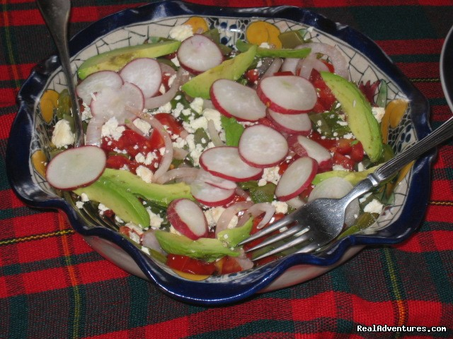 Pre-Hispanic Salad | Image #18/22 | Mexican Home Cooking School boutique accommodation