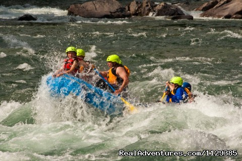 BC Rafting with Riverside Adventures