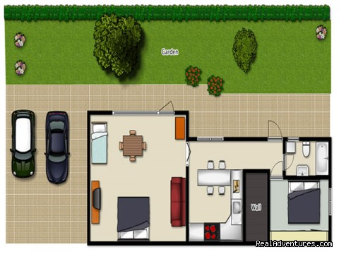 apartment plan - Apartments Stimec, Izola near the sea