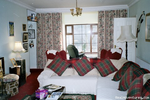 Lounge - Joyces Waterloo House- Clifden Self-Catering