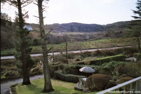 view to front of home - Joyces Waterloo House- Clifden Self-Catering