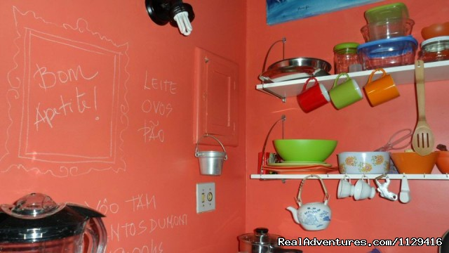 Kitchen with writtable walls - Copacabana 1 bedroom