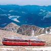 PIKES PEAK COG RAIL GOES TO THE SUMMIT