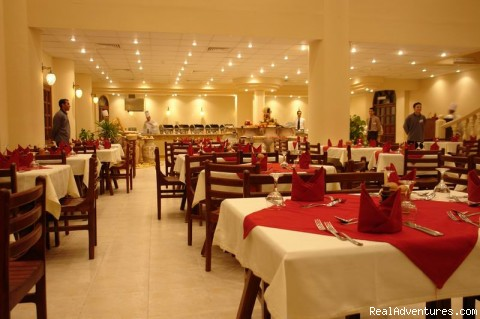 main restaurant - Badawia Resort
