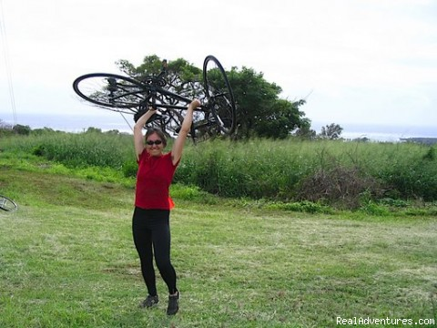 Triumph in Hawaii - Sustainable Bicycle Tours in Hawaii, Oregon, Cali