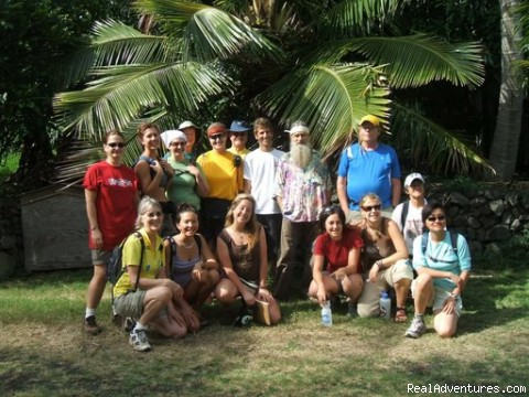 Group Photo in Hawaii - Sustainable Bicycle Tours in Hawaii, Oregon, Cali