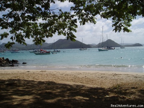 Pigeon Island beach - Villa Capri for retreats, wedding, birthday, group