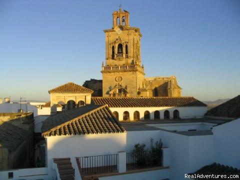 Casa Campana, Arcos de la Frontera View from Casa Campana's sun terrace