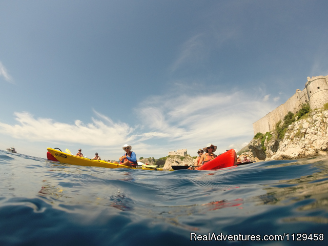 Sea Kayaking Dubrovnik 3 - Dubrovnik City Walls Sea Kayaking & Snorkeling