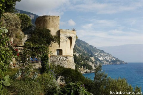 Italy Villas Positano Tower Sponda