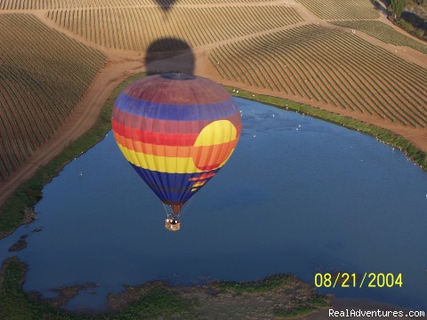 Tahoe sun in the air - Affordable quality hot air balloon rides