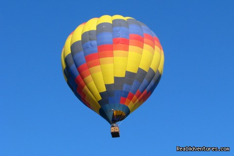 - Affordable quality hot air balloon rides