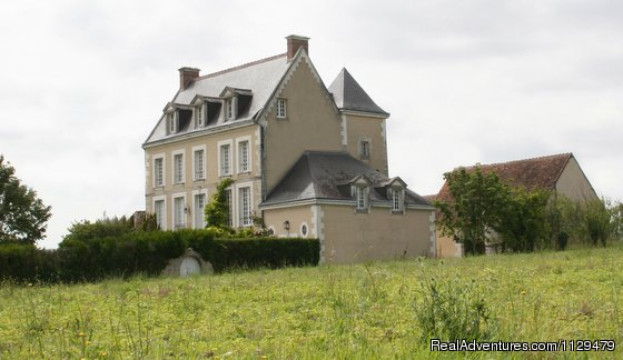 The manor on the Hill | Image #1/5 | Vendôme, France | Bed & Breakfasts | 18th Century Huchepie manor organic B&B
