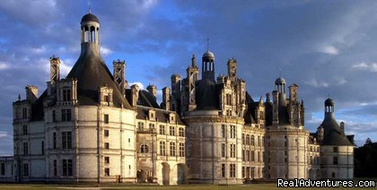 Chambord castle. - 18th Century Huchepie manor organic B&B