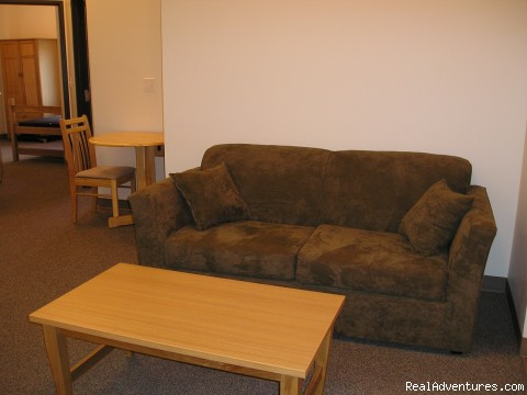 Clearwater Hall Living Room - Whitewater Rafting, Jetboating, Adventure