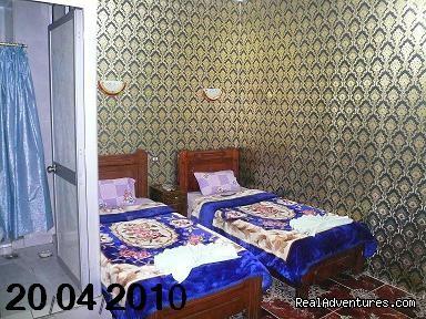 Twin Bed Room En Suite Cairo Egypt Hostel - ( king tut hostel ) Hostel in Cairo Egypt hostels