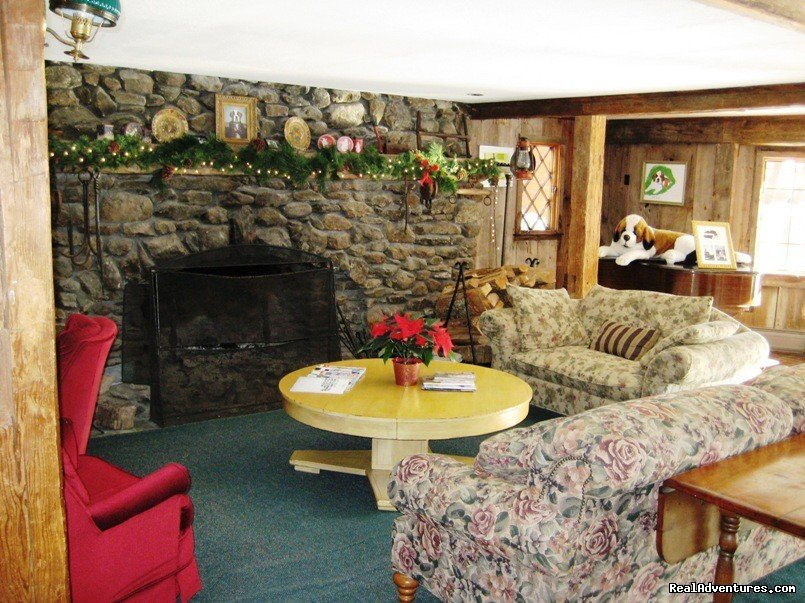 Fireplace room | Image #5/13 | Affordable Guided Hiking & Kayaking Vacations