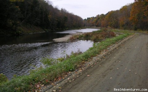 A Novice Road Hike by the Ottauquechee River