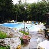 Outdoor heated pool and patio