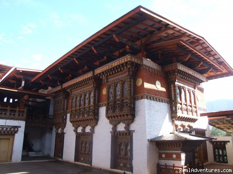 Bhutanese Architecture - Bhutan Bigfoot Trekkers