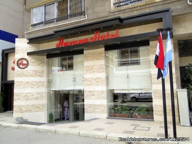 The Hotel Front - Havana Hotel