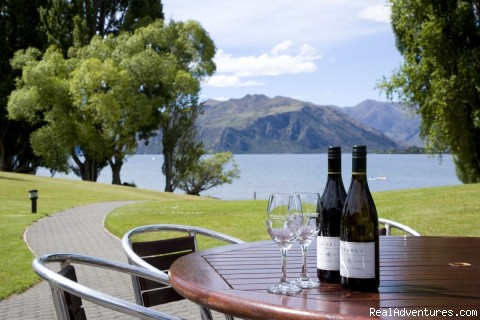 Sampling Wine Outside (#5 of 8) - Edgewater -Lake Wanaka