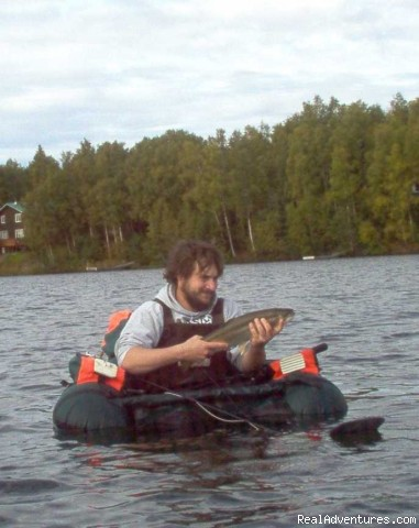 New York Mechanic in tube - Anchorage and South Central Alaska's Best Fly Fish