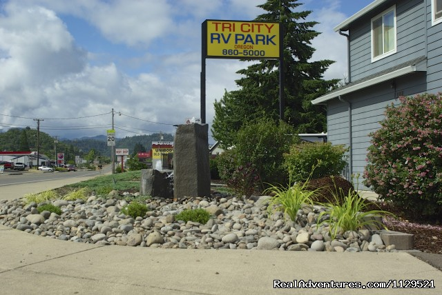 Southern Oregon RV Park Main Entrance