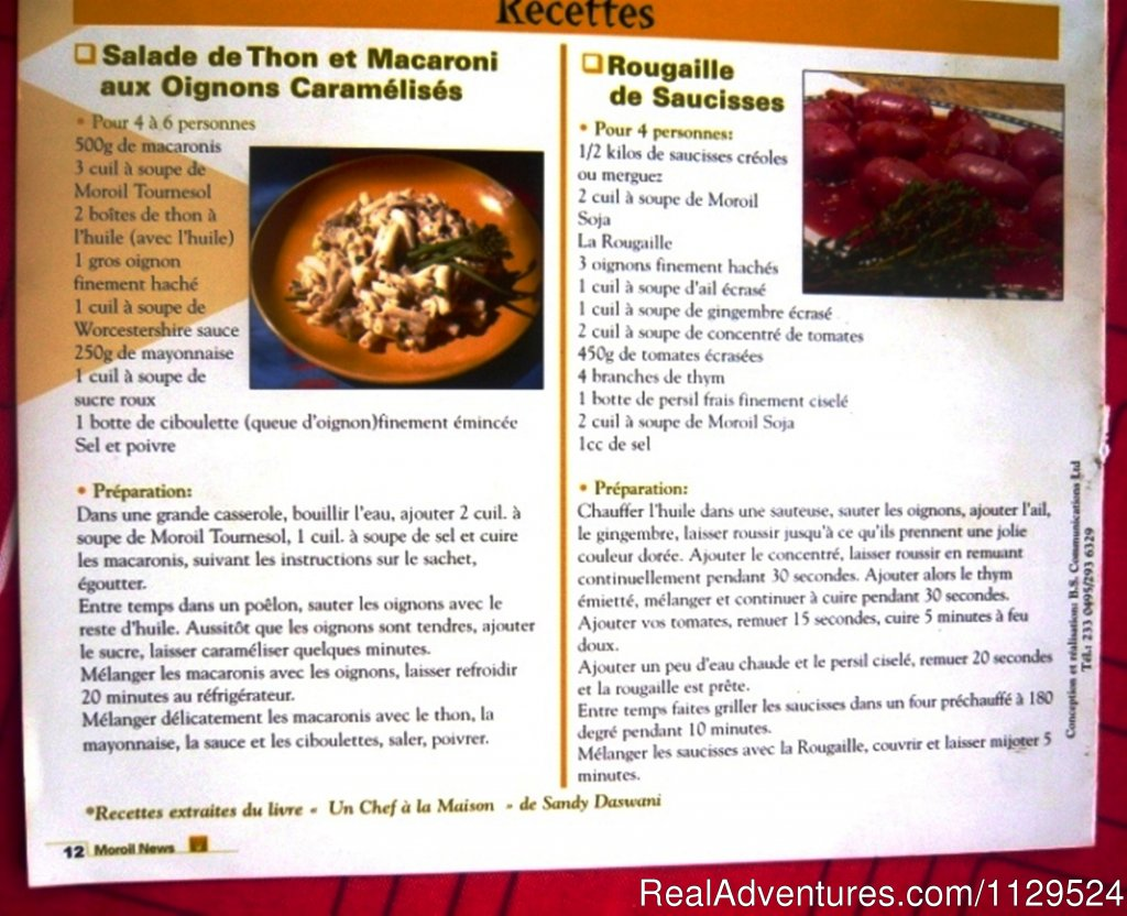 Inside View Of My Book | Image #15/26 | 'Pallagino' Beachside B&B, Foods, Cooking Class