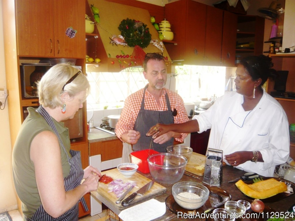 Learning from Chef | Image #17/26 | 'Pallagino' Beachside B&B, Foods, Cooking Class