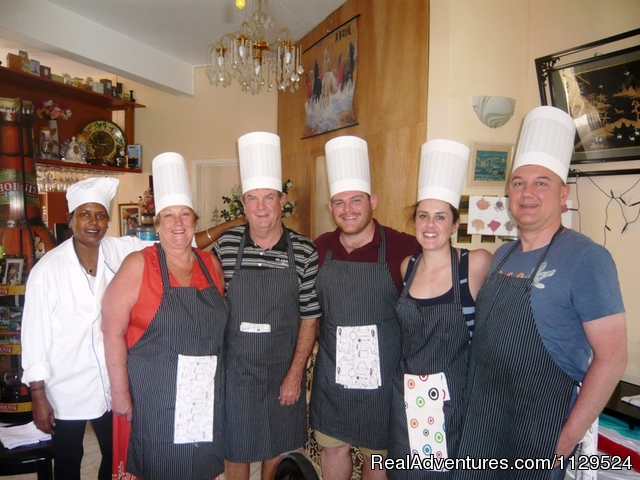 - 'Pallagino' Beachside B&B, Foods, Cooking Class