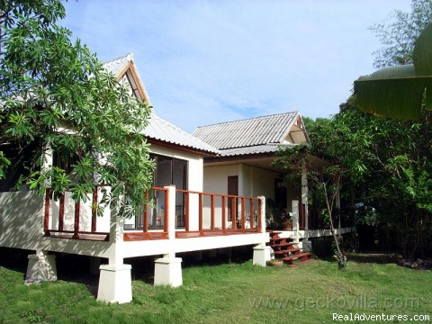Front view - GECKO VILLA - unique experiences of NE Thailand