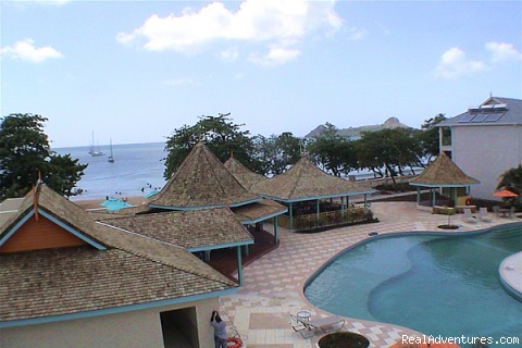 Ariel View 700 block (top floor) - Bay Gardens Beach Resort & Spa - Family Fun